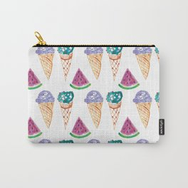 Ice Creams and Watermelon Carry-All Pouch
