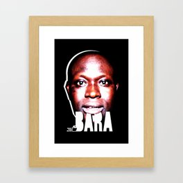 TOILET CLUB #bara Framed Art Print