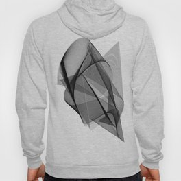 My Strong Gentle Heart. Abstract Art Hoody