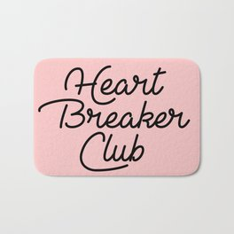 heart breaker club Bath Mat