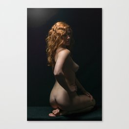Nude Model Poses Canvas Print