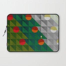 082 - Christmas tree holiday pattern I Laptop Sleeve