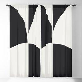 Diamond Series Round Checkers White on Charcoal Blackout Curtain