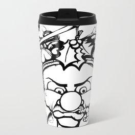 Grumpy Elf Metal Travel Mug