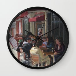 Christopher's Restaurant Wall Clock