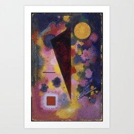 Resonance multicolor Art Print