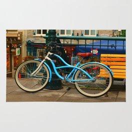 I love my blue bike Rug