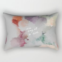 One Day At A Time Rectangular Pillow