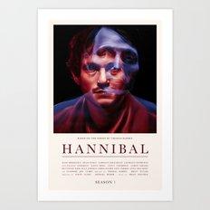 Hannibal - Season 1 Art Print