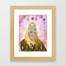QUEENIE Framed Art Print