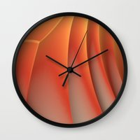 dune Wall Clocks featuring Dune by Lyle Hatch