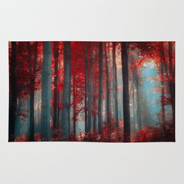 Magical trees Rug