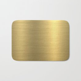 gold home decor Bath Mat