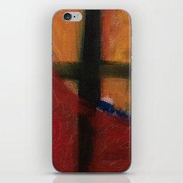 held in process iPhone Skin