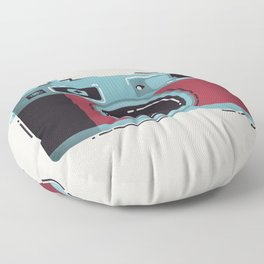 Little Yashica Camera Floor Pillow