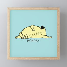 MONDAY MOOD Framed Mini Art Print