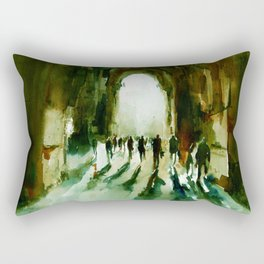 without an end or a beginning  Rectangular Pillow