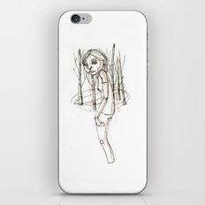 JANE (5) iPhone & iPod Skin