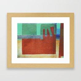 Hapi Framed Art Print