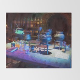 Potions Class Throw Blanket