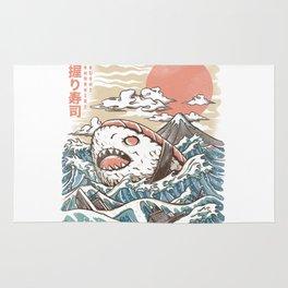 Sharkiri Sushi Rug