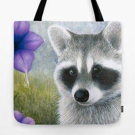 Raccoon 20 Tote Bag