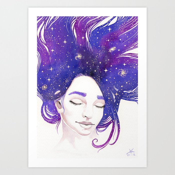 Mind Patterns III: Starstruck Art Print