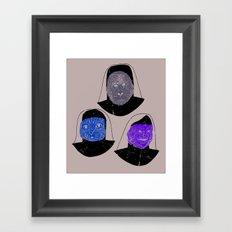 Creatures of Habit Framed Art Print