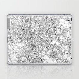 Rome Map Line Laptop & iPad Skin