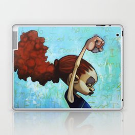 strong convictions Laptop & iPad Skin