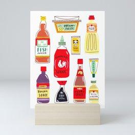 Asian Seasonings Mini Art Print