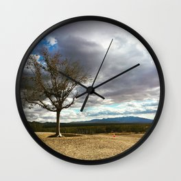 A Tree Stands Alone Wall Clock