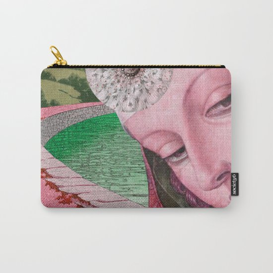 NOTHING'S ROSY Carry-All Pouch