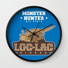 Monster Hunter All Stars - Loc-Lac Riders Wall Clock