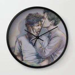 Keep Me Where the Light Is Wall Clock