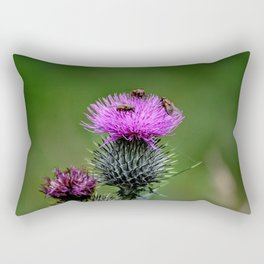 Flower of Scotland Rectangular Pillow