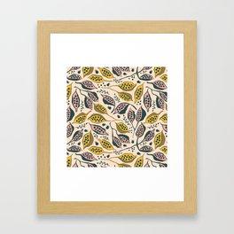 kurrajong seeds Framed Art Print