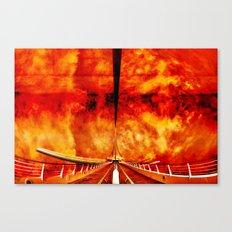 Calatrava Burning Canvas Print