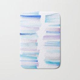 11 | 181101 Watercolour Palette Abstract Art | Lines | Stripes | Bath Mat