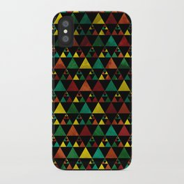 Hills & Trees at night iPhone Case