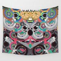 koala Wall Tapestries featuring KiNG KoALA by Galvanise The Dog
