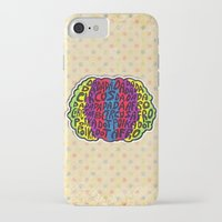 afro iPhone & iPod Cases featuring Circus Afro! Circus Afro!  by Brieana