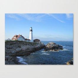 Portland Headlight 2 Canvas Print