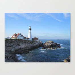 Portland Headlight 2 Canvas Print