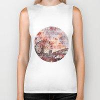 sydney Biker Tanks featuring Sydney Luna Park by LebensART