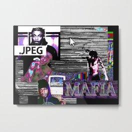 JPEGMAFIA Metal Print