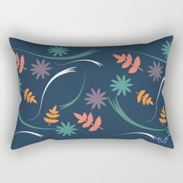 Blue Spring Rectangular Pillow