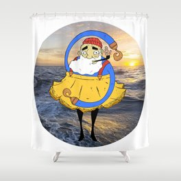 Freedom Sea Shower Curtain
