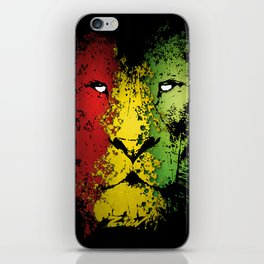 lion of zion iPhone Skin