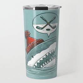 Hockey Shark Travel Mug